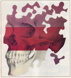 Crânio e quebra