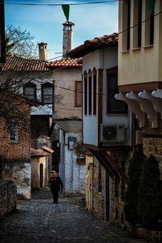 Old Town Kastoria Null Corfu Crete Santorini Villas Macedonia Old Town