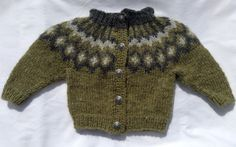 Icelandic sweater, cardigan, baby, baby unisex, sweater, Icelandic wool, unisex, lopapeysa Icelandic, handmade, kids fall, ready to ship - pinned by pin4etsy.com