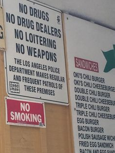 You know your in the hood when you see a sign like this.