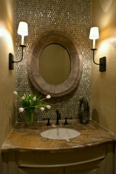 Love the wall all glass for a small bathroom... which I'm planning to make