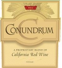 """Caymus Conundrum """"Proprietary Blend of Red Wine"""" - Delicious!"""