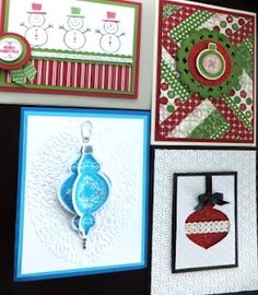 Nice christmas cards by Penny Hanuszak