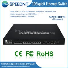 Check out this product on Alibaba.com App:OEM/ODM distributor router switches layer 2/3 10gbps 12ports network switch with sfp slot https://m.alibaba.com/j4NjQu