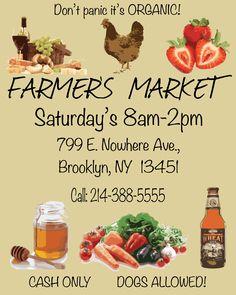 Farmers Market poster 4