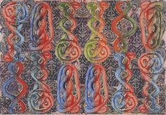 Philip Taaffe Sardica II, 2013 Mixed media on canvas