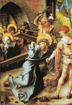 'das kreuz', 1497 von Albrecht Durer (1471-1528, Germany)