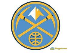 When i was children, The Denver Nuggets's logo is my favorite logo design  NBA Denver Nuggets Logo