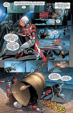 Knightfall Suit: Batarang Launcher And Wrist Mounted Grappling Hook Azrael Dc Comics, Alvaro Martinez, Grappling Hook, Spiderman, Batman, Chapter One, Detective Comics, Bat Family, Comics Online