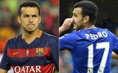 Pedro jugaría más en el Barcelona que en el Chelsea