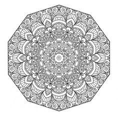 Coloriage mandala à imprimer dans 11 coloriages de mandalas pour adultes à imprimer pour se détendre