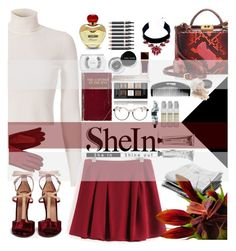 """SheIn"" by daniela-896 ❤ liked on Polyvore featuring A.L.C., MAC Cosmetics, Moschino, Mark Cross, Bobbi Brown Cosmetics, Nudestix, Tom Ford, Givenchy, MOO and shu uemura"