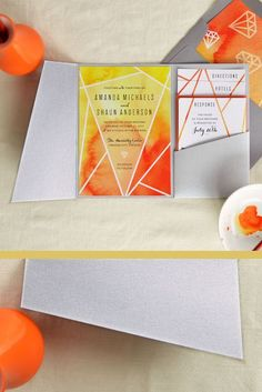 Wedding Invitation Card Design, Pocket Invitation, Wedding Invitation Inspiration, Laser Cut Wedding Invitations, Wedding Stationery, Wedding Inspiration, Invitation Ideas, Invites, Hurricane Centerpiece