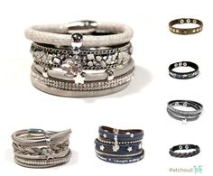 Naast kinderkleding verkopen we in de webshop ook leuke accessoires zoals deze armbanden. We hebben zowel sets als losse armbanden. www.patchouli.nl