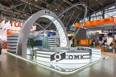 Выставочный стенд компании ОМК.