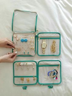 Travel gear for jewelry
