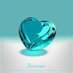 Meu coração e assim, tenho certeza! #Coração #Turquesa #Dominique #SomosTodasDominique #SouDominique Color Turquesa, Vase, Wallpaper, Aquarium, Gifs, Hearts, Stickers, Pictures, Backgrounds