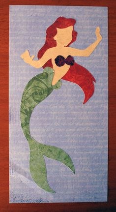 A Paper Princess: The Little Mermaid. I LOVE The Little Mermaid so I think I just might make this!