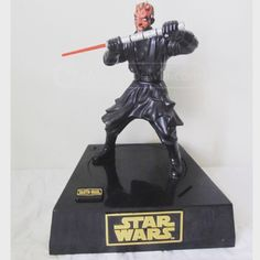 Save $ or else! This guy talks and moves when a coin is inserted. #starwars #darthmaul #bank http://www.shopgoodwill.com/auctions/Star-Wars-Darth-Maul-Interactive-Bank-32267672.html