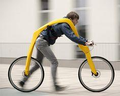 Mokika: Fliz bike - una bici sin pedales, sin asiento