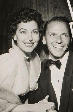 Frank Sinatra & wife Ava Gardner