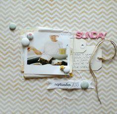 Life. Paper. Scrapbook. : December Sketch Challenge - Lucia Barabas