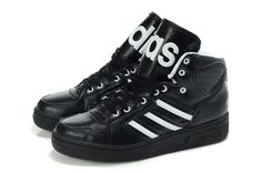 Adidas Jeremy Scott Originals JS Instinct Hi Black Shoes