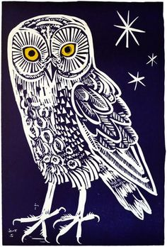 Linocut – mounted, unframed. Image size: 290mm x 195mm Edition size: 95 This is an original limited edition print, signed by the artist. Please note - as with m