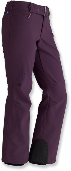 Soft, stretchy and stylish—Women's Marmot Davos Soft-Shell Pants. #REIGifts
