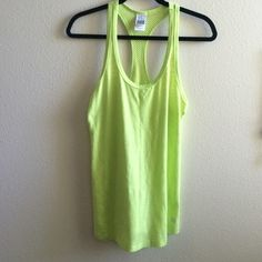 VSX workout tank small Adorable and perfect for spring and summer! Cute back with a crochet look to it. Very comfy and stylish :) Victoria's Secret Tops Tank Tops