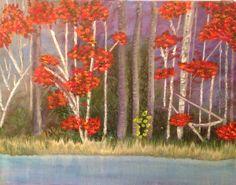 "Blackwater River Early Morn (Acrylic) 11"" x 14"""