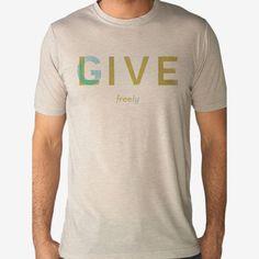 Live Free Give Freely Men's Tee / Jon Ashcroft