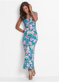 74d658b6439f Φλοράλ φόρεμα Μπλε Ροζ φλοράλ BODYFLIRT boutique