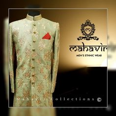 To buy visit our store in Chandni Chowk.  #mahavircollections #mensstyle #outfit #mensfashions #lookstylish #festival #mensethnicwear #fashion #trendy #indianwedding #sherwani #shopnow #festiveseason #WeddingWear #menwithstyle #traditional #kurtapajama #groom #weddings #indianwear #fabrics #festivalfashion #fashionstyle #chandnichowk #hitssentertainment Wedding Dress Men, Wedding Wear, Gents Kurta, Mens Ethnic Wear, Mens Sherwani, Groom Wear, Indian Wear, Festival Fashion, Chef Jackets