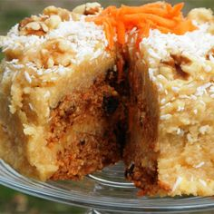 Raw Carrot Cake Recipe - Key Ingredient