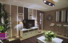 decoracion salon rayas verticales