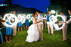 Aimee and Brad - What says 4th of July more than a little fireworks!? - Meg Darket Photography