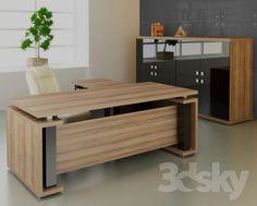 2017 hot sale luxury executive office desk wooden office desk on