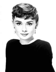 Audrey Hepburn where I first fell in love with the pixie. Sabrina anyone?