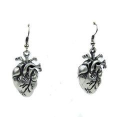 Anatomical Heart Earrings Cosplay