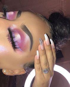 makeup looks black women Edgy Makeup, Glam Makeup Look, Dramatic Makeup, Cute Makeup, Makeup Goals, Makeup Inspo, Makeup Inspiration, Makeup Ideas, Beauty Makeup