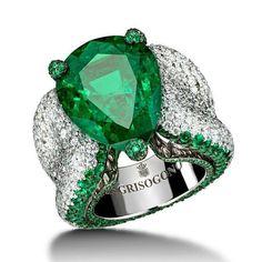 High jewellery emerald and diamond ring will surely bring out the best in you! Simply Majestic. Get it from @deGRISOGONO. .. #purplebyanki #luxury #loveit #jewelry #jewelrydesign #jewelrydesigner #gold #jewelrydesign #finejewelry #luxurylifestyle #instagood #follow #instadaily #lovely #beautiful #dubaifashion #dubailife #mydubai #beautiful #love #jewelgoals #fashion #bosslady #ring #emerald
