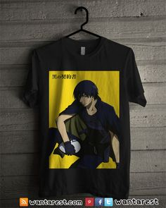 Darker than Black Anime T-Shirts, Only $17 ship to worldwide, available size S to 2XL. #DarkerThanBlack #Animelover #anime #otaku #Shirt #Clothing #Tshirt