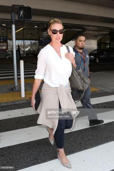 News Photo : Katherine Heigl is seen at LAX on July Maggie Grace, Katherine Heigl, Ali Larter, Idris Elba, July 10, Rachel Mcadams, Actress Christina, Gemma Arterton, Bradley Cooper