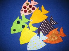 with kiddos @ the library: Flannel Friday: Which fish?