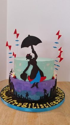 Mary poppins  - Cake by SRsweets