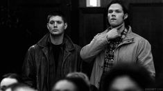 If some people were hitting on cas and gabriel and they looked up and saw this.
