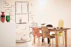 Domus Loves - A SLICE OF DESIGN - 19 greek street Cafe