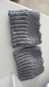v-stitch boot cuffs