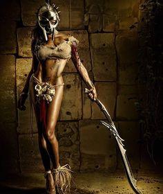 """Spartaca"" modeled by Poison Ivy photography by Stefan Gesell. . . #fotografie #fotografia #sparta #spartan #spartans #spartanrace #spartaca #photooftheday #poisonivy #poisonivycosplay #blackmodel #blackmodels #darkskin #femmenoir #femmenoire #blackwoman #blackwomen #blackgirlsrock #blackgirl #blackmetalgirl #blackgirls by nubiamancy"